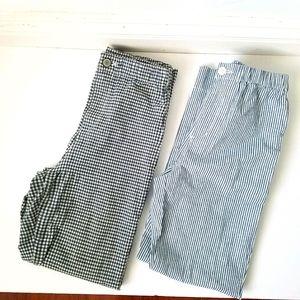 Brandy Melville John Galt Plaid Striped Pants S